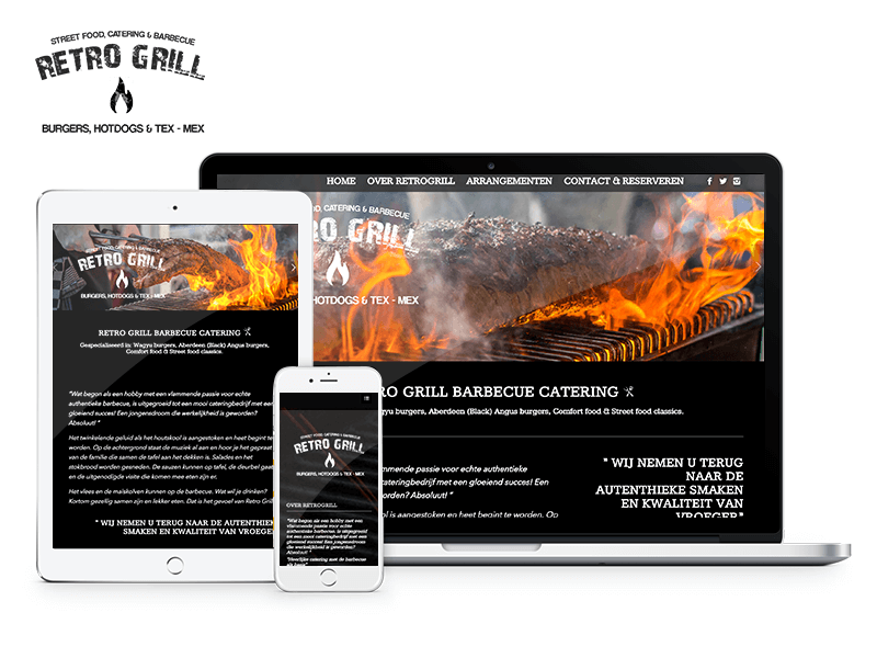 Retrogrill | Webdesigner West-Friesland | Project Direct | Webdesign West-Friesland | Website bouwen West-Friesland | Wordpress West-Friesland | Grafische vormgever West-Friesland | SEO West-Friesland | Hosting | Wordpress training | Logo design West-Friesland | SSL Certificaten | Website onderhoud | Timo van Tilburg