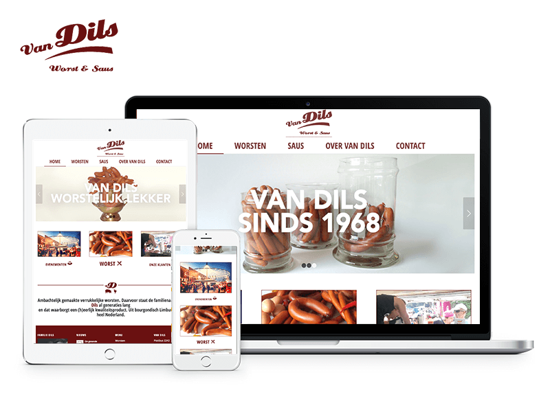 Van Dils | Worst & Saus | Webdesigner West-Friesland | Project Direct | Webdesign West-Friesland | Website bouwen West-Friesland | Wordpress West-Friesland | Grafische vormgever West-Friesland | SEO West-Friesland | Hosting | Wordpress training | Logo design West-Friesland | SSL Certificaten | Website onderhoud | Timo van Tilburg
