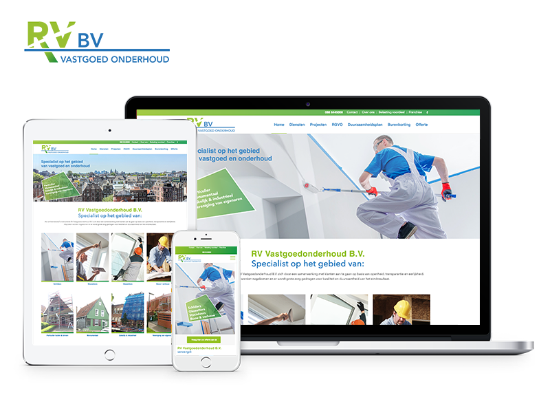 RV Vastgoedonderhoud B.V. | Webdesigner West-Friesland | Project Direct | Webdesign West-Friesland | Website bouwen West-Friesland | Wordpress West-Friesland | Grafische vormgever West-Friesland | SEO West-Friesland | Hosting | Wordpress training | Logo design West-Friesland | SSL Certificaten | Website onderhoud | Timo van Tilburg