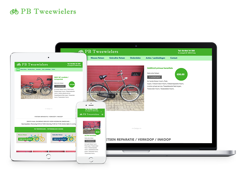 PB Tweewielers | Webdesigner West-Friesland | Project Direct | Webdesign West-Friesland | Website bouwen West-Friesland | Wordpress West-Friesland | Grafische vormgever West-Friesland | SEO West-Friesland | Hosting | Wordpress training | Logo design West-Friesland | SSL Certificaten | Website onderhoud | Timo van Tilburg