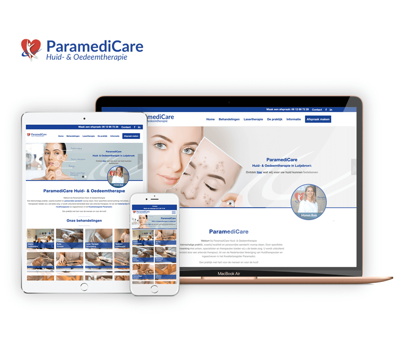 ParamediCare | Webdesigner West-Friesland | Project Direct | Webdesign West-Friesland | Website bouwen West-Friesland | Wordpress West-Friesland | Grafische vormgever West-Friesland | SEO West-Friesland | Hosting | Wordpress training | Logo design West-Friesland | SSL Certificaten | Website onderhoud | Timo van Tilburg