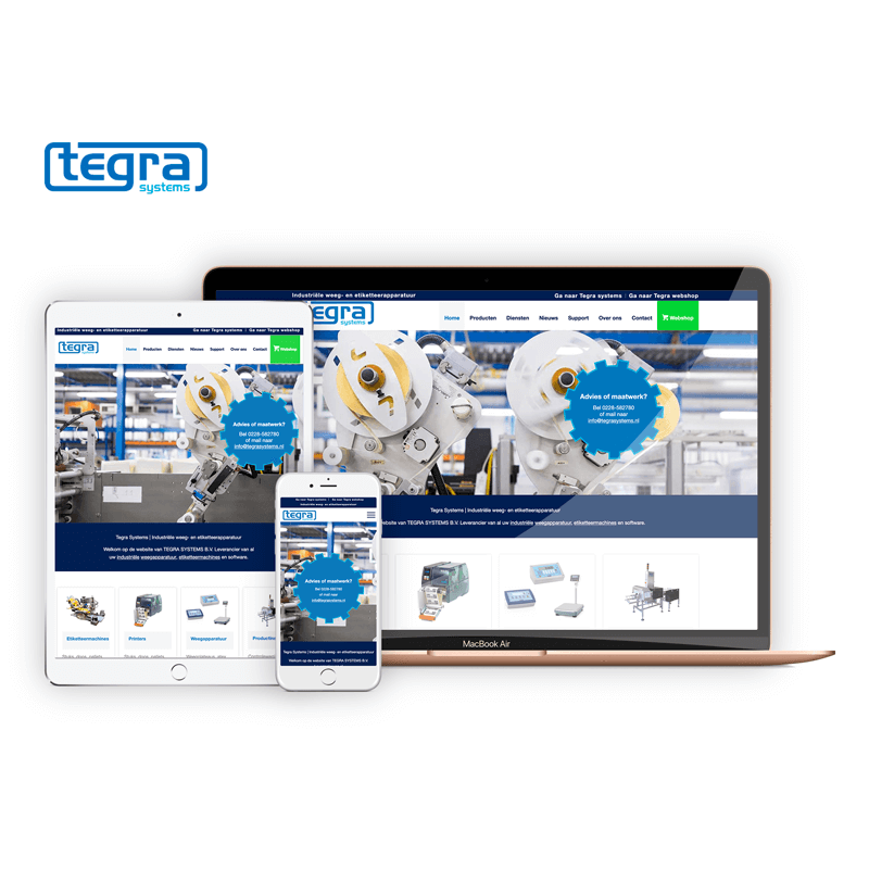 Tegra Systems | Webdesigner West-Friesland | Project Direct | Webdesign West-Friesland | Website bouwen West-Friesland | Wordpress West-Friesland | Grafische vormgever West-Friesland | SEO West-Friesland | Hosting | Wordpress training | Logo design West-Friesland | SSL Certificaten | Website onderhoud | Timo van Tilburg